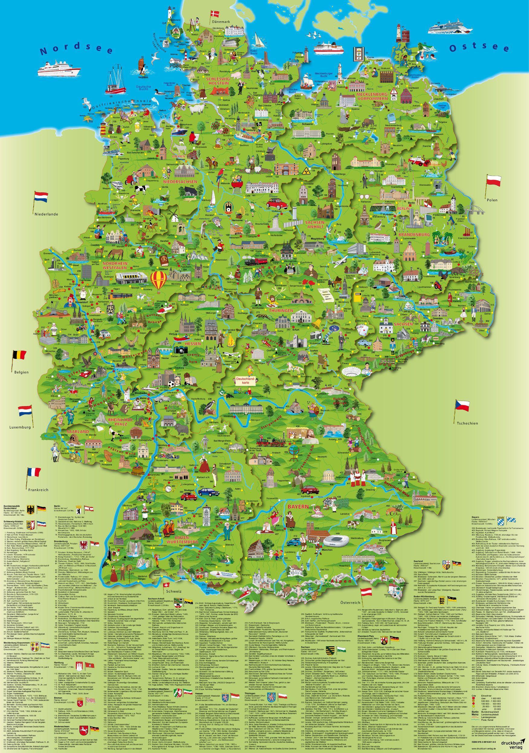európa térkép németország Németország utazás, térkép, Utazás Németország térkép (Nyugat  európa térkép németország